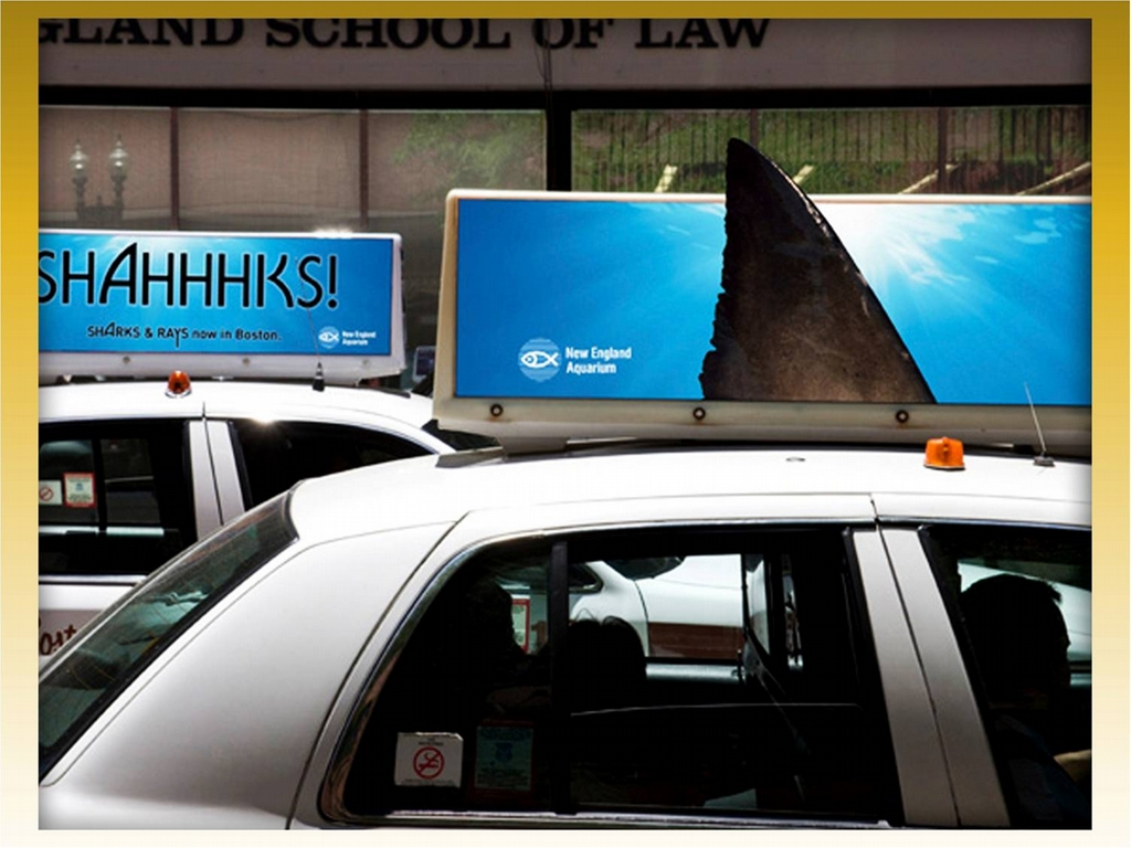 Taxi Top and Trunk Marketing