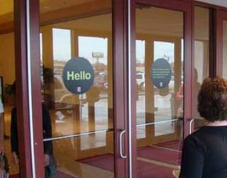 Entrance Door Clings & Find Alternative Ads in New York NY Philadelphia PA Washington DC