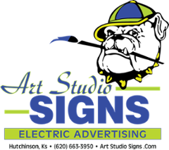 Art Studio Signs    Electric Advertising