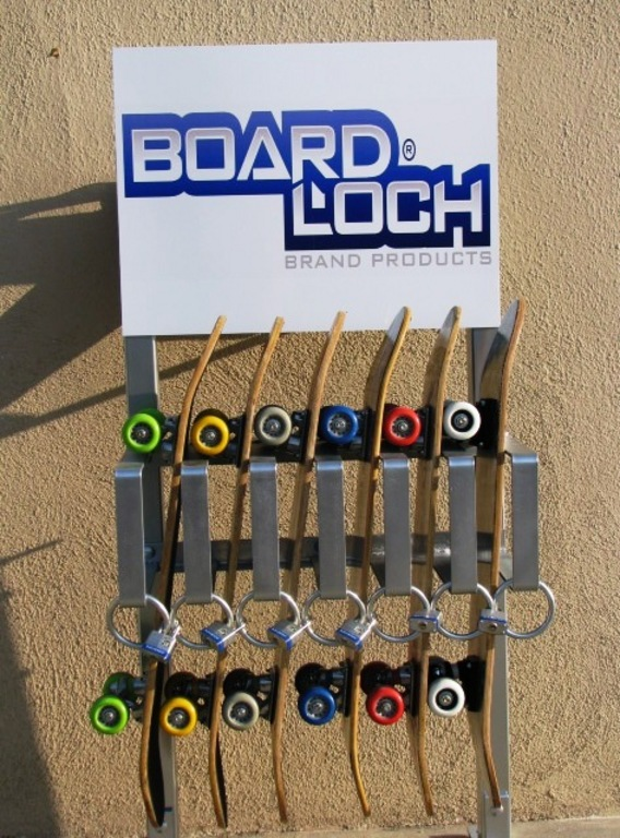 Skateboard Rack Advertising By Elite Products And Design