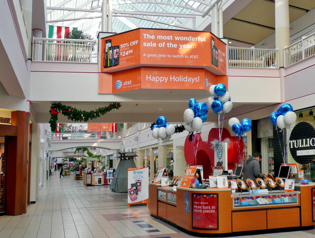 Mall Advertising Champlain Centre Plattsburgh Ny By