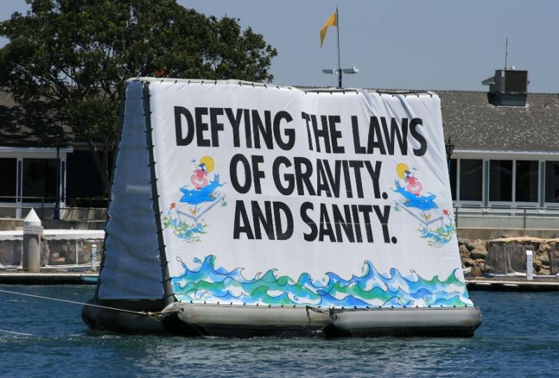 Mobile Floating Billboard Advertising by Billboards Boats
